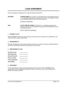 5 free loan agreement templates excel pdf formats