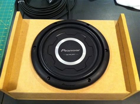 subwoofer box build  dimensions ford  forum