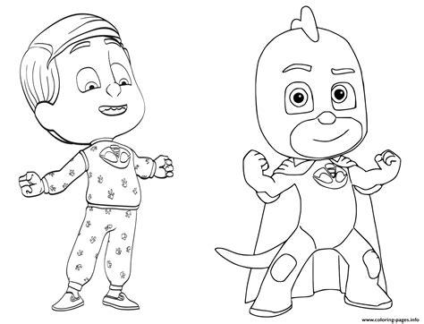 coloring pages pj masks greg is gekko from pj masks coloring pages printable