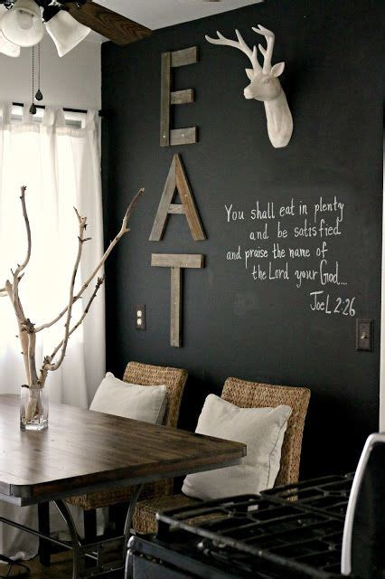 dining room chalkboard 31 chalkboard dining room d 233 cor ideas you ll love digsdigs