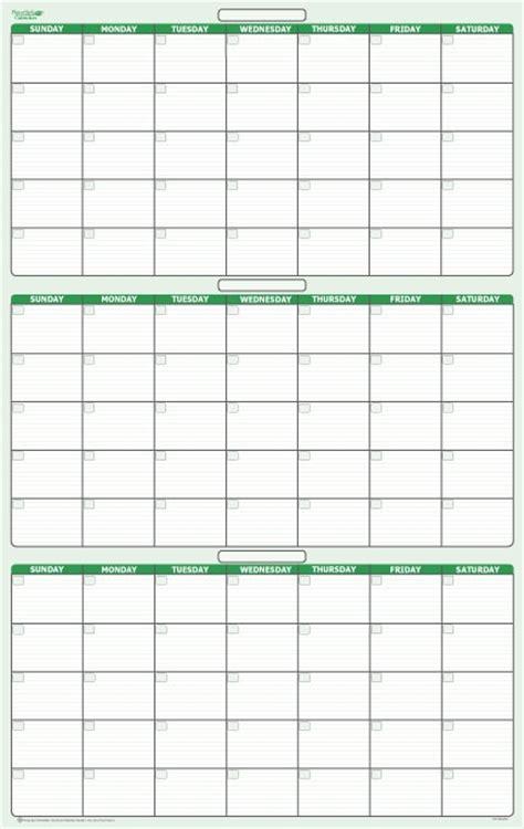 day  month dry erasable wall calendar