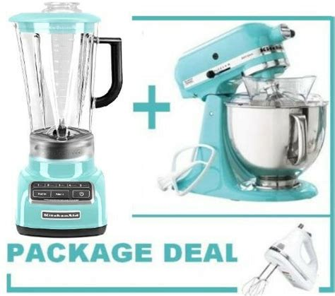 kitchenaid martha stewart blue  speed blender stand mixerhand mixer  ebay