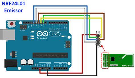 tutorial arduino nrf24l01 comunica 231 227 o wireless com arduino e m 243 dulo nrf24l01 2 4ghz