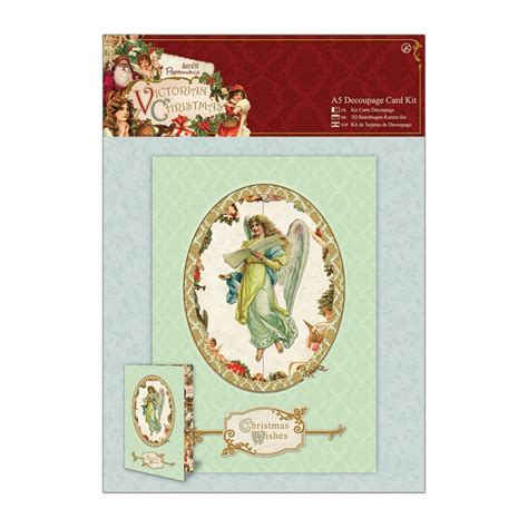 Decoupage Card Kits - a5 decoupage card kit docrafts from