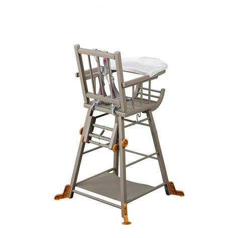 chaise haute grise moinat sa antiquit 233 s et d 233 coration 224 rolle et 232 ve