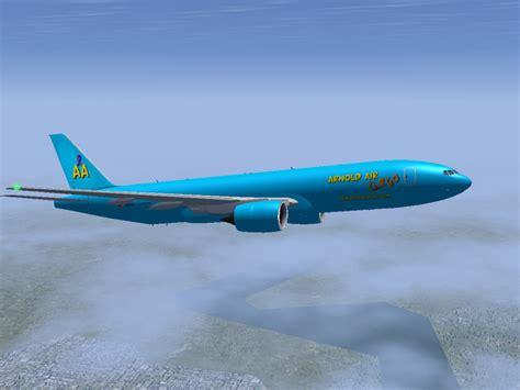 arnold air cargo 777f by dev catscratch on deviantart