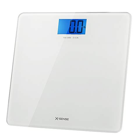 easy to read bathroom scales x sense precision digital body weight bathroom scale with