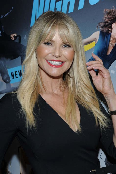 christie brinkley christie brinkley nightcap season 2 premiere in nyc