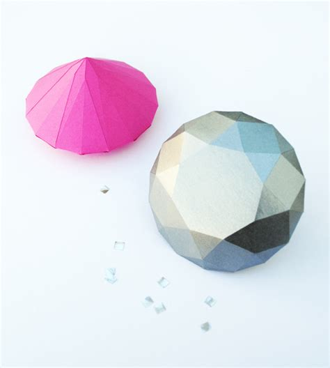 How To Make Diamonds Out Of Paper - paper diamonds minieco