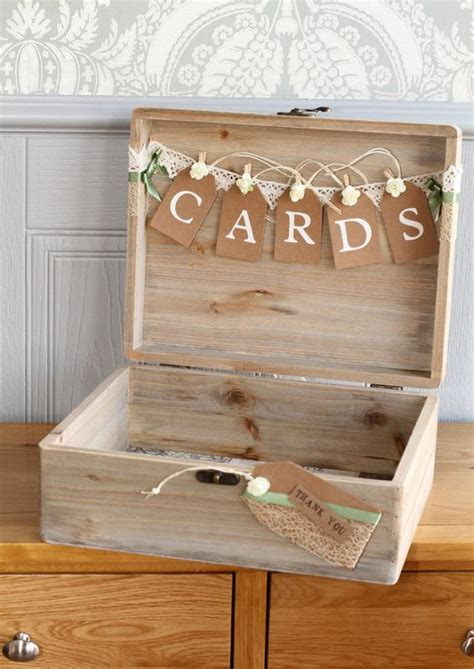wooden wedding card holder 20 creative wedding card box ideas many brides are dying for
