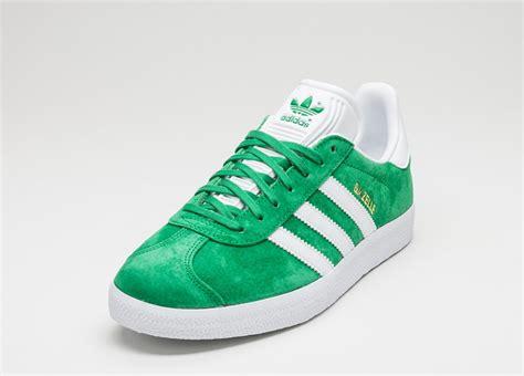 Adidas Gazelle 2 0 Green White adidas gazelle green white gold metallic asphaltgold