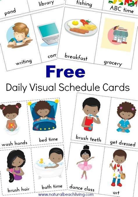 printable visual schedule for kindergarten 17 best ideas about visual schedule preschool on pinterest