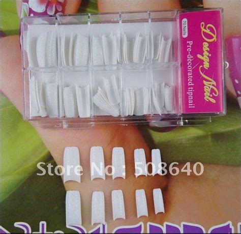 fake nails tips acrylic faux ongles french false unhas