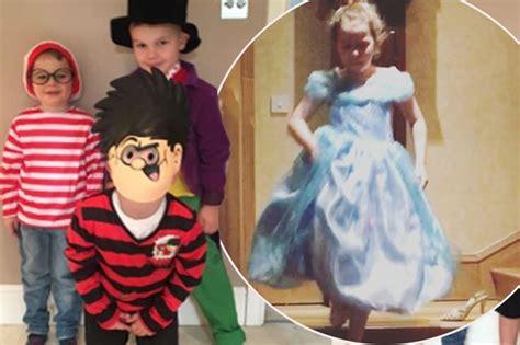 dress up like a dead celebrity world book day celebrities help their children dress up
