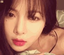 hyuna tattoo hyuna gifs tenor
