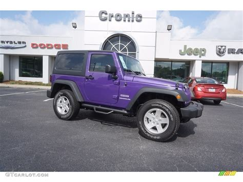 xtreme purple jeep 2017 xtreme purple pearl jeep wrangler sport 4x4