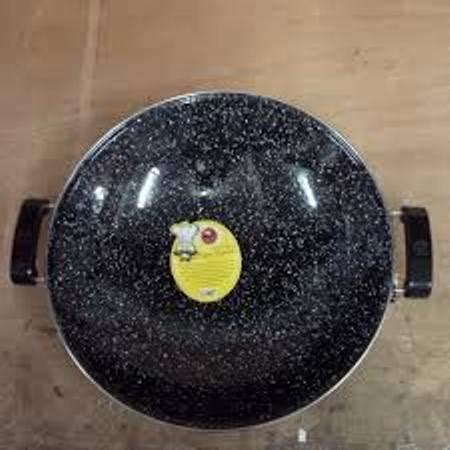 Wajan Royal Maspion wajan enamel marble royal wok maspion 35 dan 40cm shopee