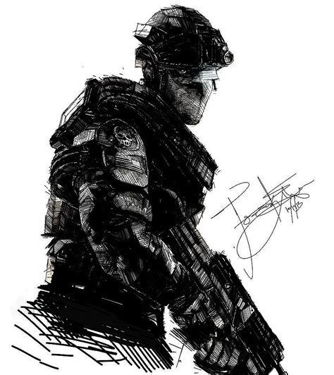 navy seal sniper by frankeyeson on deviantart