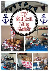nautical baby shower ideas recipes and free