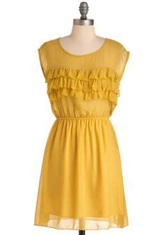 Miller Dandelion Dress my dear mustard yellow bridesmaid dress yellow dress summer dress sundress simple