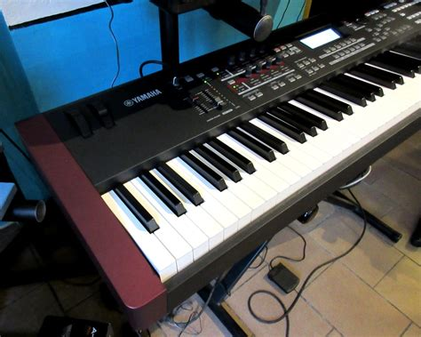 Keyboard Yamaha Moxf8 moxf8 yamaha moxf8 audiofanzine