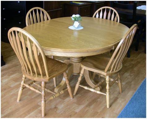 Dining Room Furniture Ontario Single Pedestal Mennonite Oak Table Lloyd S Mennonite