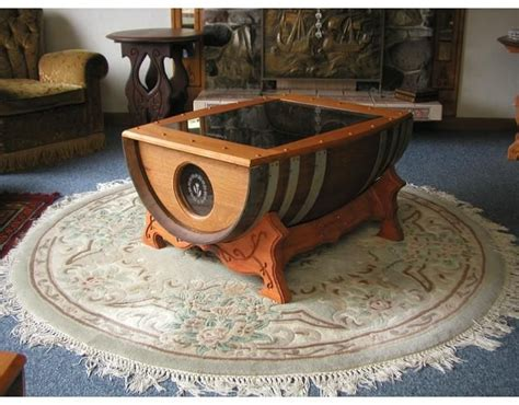 Barrell Coffee Table Renovate Your Interior With A Wine Barrel Coffee Table Chimeneas Con Barriles