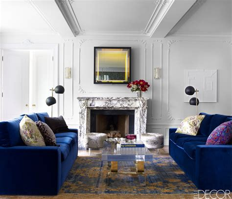 elle decor house tour a new york apartment with dramatic flair