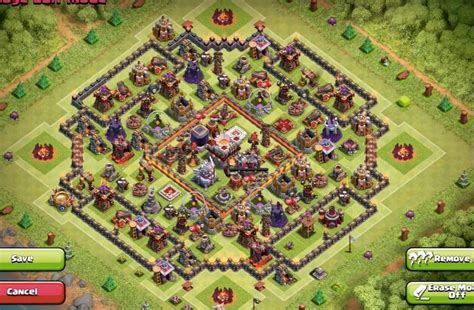 coc strong layout strong base designs for th11 where are they
