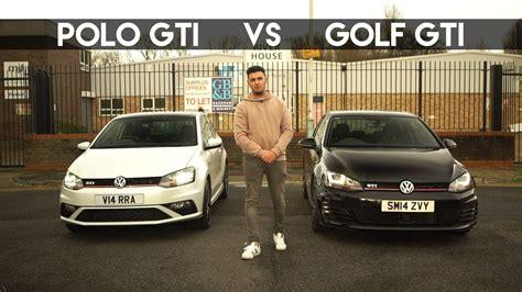 Volkswagen Polo Vs Golf by Polo Gti Vs Golf Gti