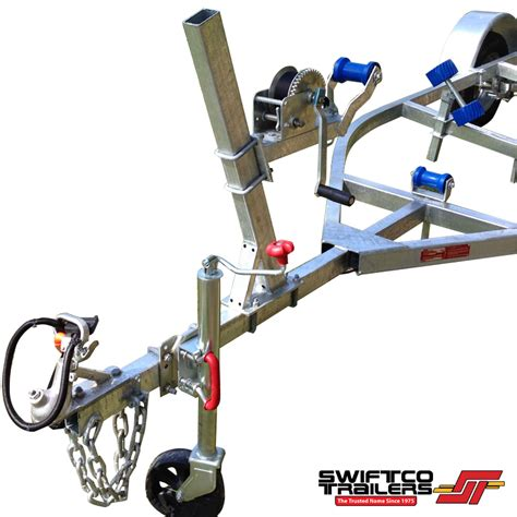 boat trailer quad rollers swiftco 4 metre boat trailer roller type