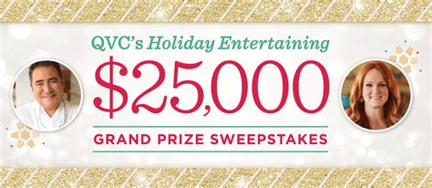 Qvc Sweepstakes - qvc com sweepstakes qvc holiday entertaining 25 000 sweepstakes