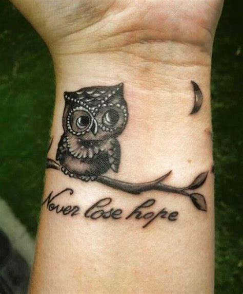 owl tattoo location 35 awesome owl wrist tattoos design