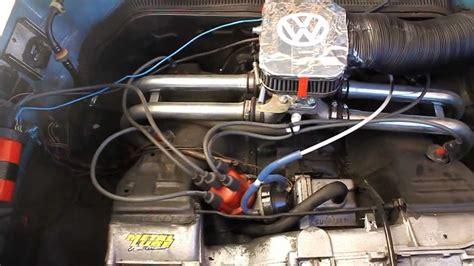 vw   cu aircooled empi progressive carburetor youtube