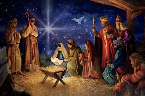 free christmas wallpapers of jesus in a manger the birth of jesus religious architecture background wallpapers on desktop nexus image 2198291