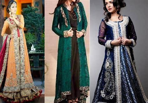 2015 New Indian Long Shirt Dresses | long front open double shirt dress designs 2016 17 collection