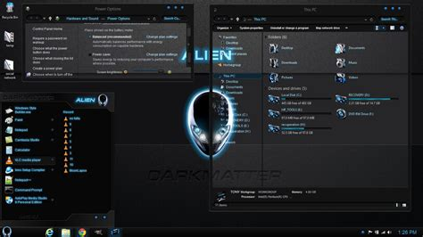 themes games win 8 windows 8 1 theme alien darkmatter by newthemes on deviantart
