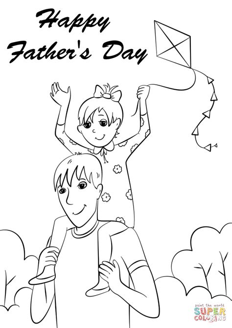 happy fathers day coloring pages happy s day coloring page free printable coloring