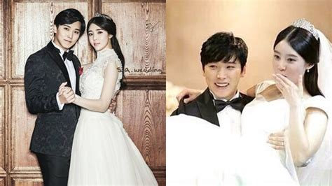Wedding Dress Kpop by 10 Things K Pop Idols Who Dated And Married While Active