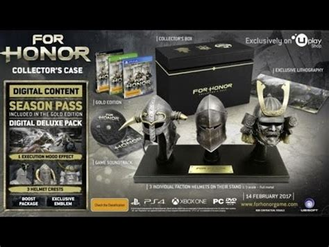 Promo For Honor Collector Edition Ps4 ubisoft s for honor collector s edition ps4 xbox one
