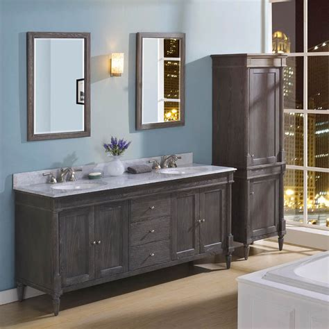 Rustic Modern Bathroom Vanities by Fairmont Designs Rustic Chic 72 Quot Vanity Bowl