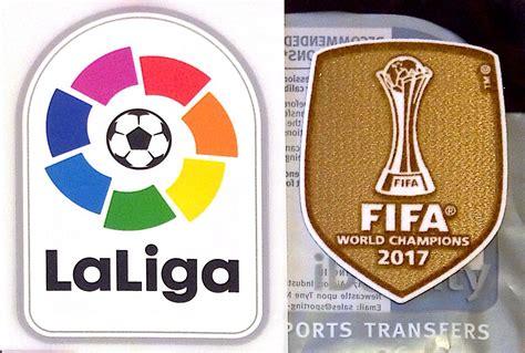 Logo Patch Woven Emblem Club Bola Real Madrid 2017 18 real madrid fifa world club chions lfp la liga official football soccer badge patch set