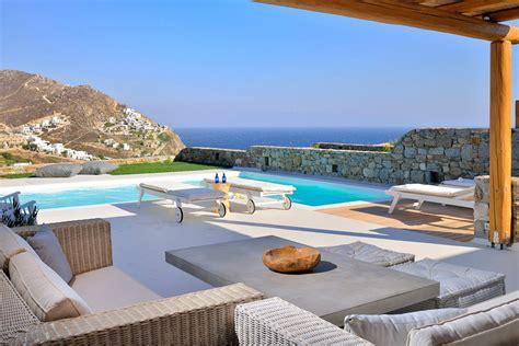 Mediterranean Style Bedroom Furniture - greek mediterranean style villa in mykonos with modern charm idesignarch interior design