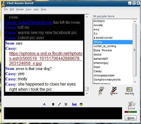aim chat room