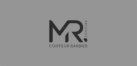 m r logo design logo coiffeur inspiration logo