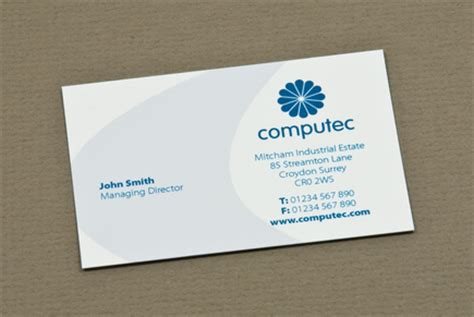 it consultant business card template blue it consulting business card template inkd