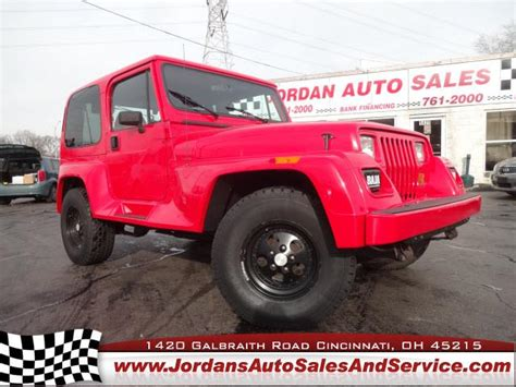 1993 Jeep Value 1993 Jeep Wrangler Average Price