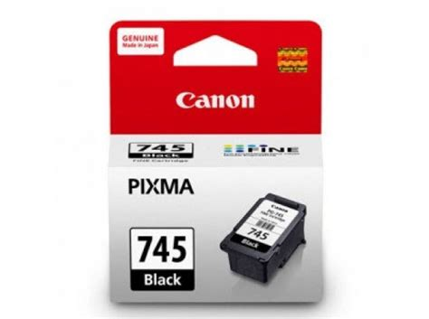 Tinta Canon Cartridge Pg 745 Tinta Black Original Dealer Resmi Can canon pixma pg 745 black cartridge