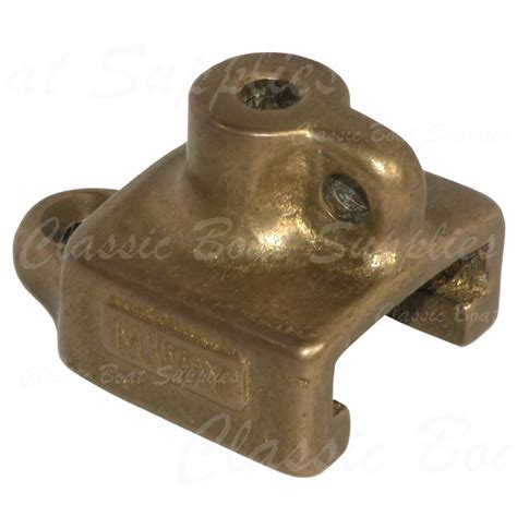classic boat supplies nz murray bronze track end stop mw128 classic boat supplies