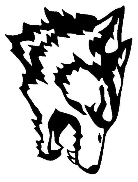 dessin loup rigolo